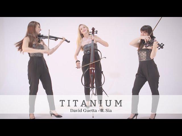 Titanium | David Guetta - ft. Sia | Bravo Music Events Electric String trio