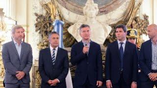 Mauricio Macri anunció la construcción de una autovía en la Ruta Nacional 40.