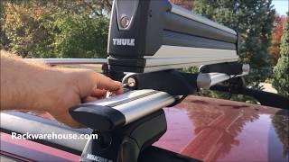 thule snowpack extender 7325 pull out 6 pair ski rack 4 snowboard carrier