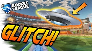 NEW UFO Rocket League GLITCH! - Tutorial/Tips & Tricks (Rocket League Glitches, Gameplay, Goals)