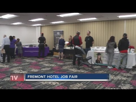 Job fair held at Fremont hotel-casino ahead of holidays