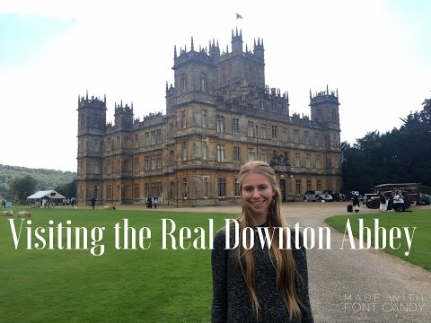 Visiting the Real Downton Abbey - Highclere Castle