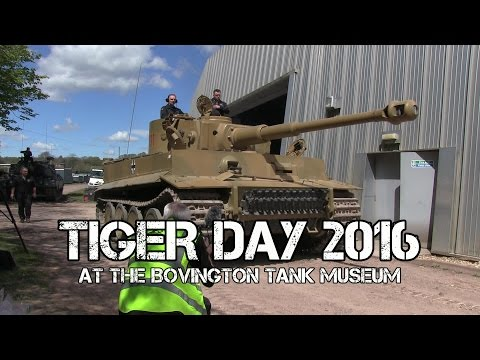Tiger Day 2016 at The Bovington Tank Museum