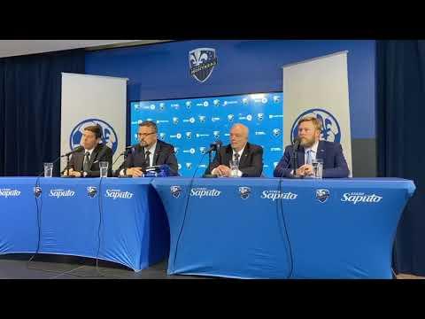 Conférence De Presse - Partenariat Entre L'Impact De Montréal Et Soccer Québec
