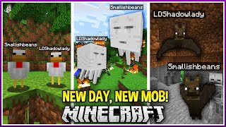 Minecraft BUT Everyday we're a Different Mob!