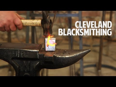 Cleveland Blacksmithing - Creating art from metal in Ohio City