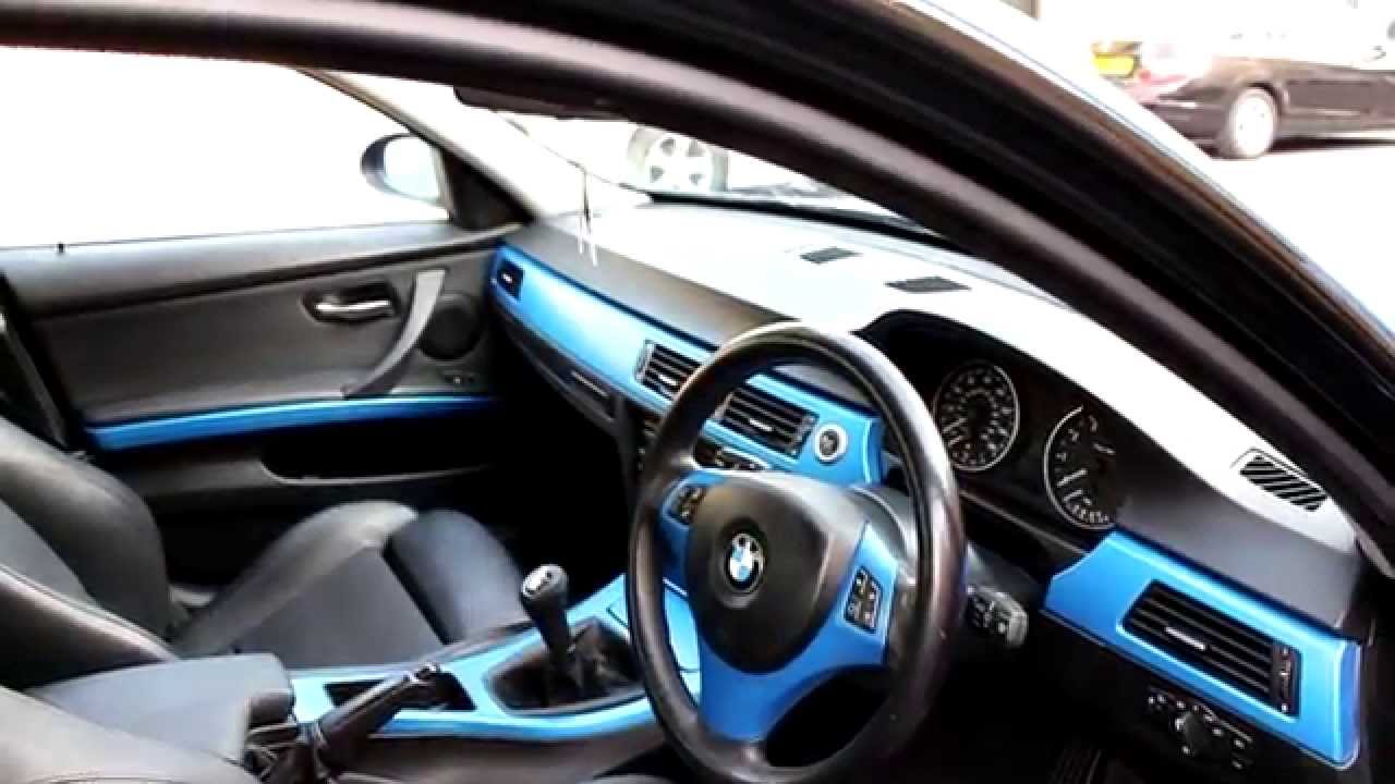 taurowraps bmw 3 series gets complete tranformation 3m satin perfect blue wrap youtube. Black Bedroom Furniture Sets. Home Design Ideas