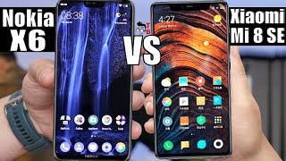 Xiaomi Mi 8 SE vs Nokia X6 (2018): Compare Best Phones Under $300