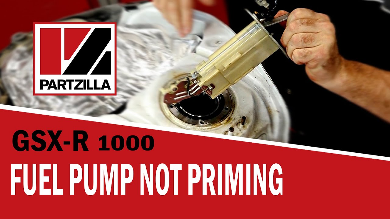 gsxr fuel pump not priming | suzuki gsx-r1000 | partzilla com