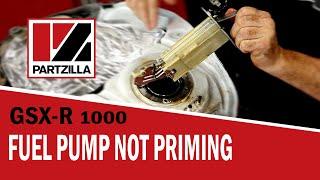 GSXR Fuel Pump Repair   Suzuki GSX-R1000   Partzilla com