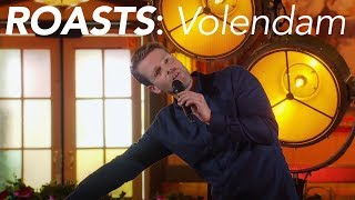 Martijn Koning ROAST de mensen uit VOLENDAM! I Comedy Central Roasts #5
