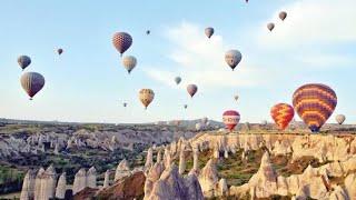 Kapadokya balon turu 2.bölüm cappadocia air ballons part 2 göreme
