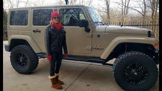 #112 Jeep Wrangler, A WOMAN