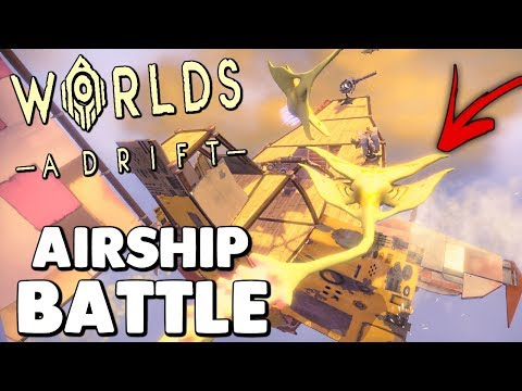 Worlds Adrift - GIVEAWAY! SKY PIRATES ATTACK ENEMY SHIPS, FLYING THROUGH THE BLIGHT - Chill Stream