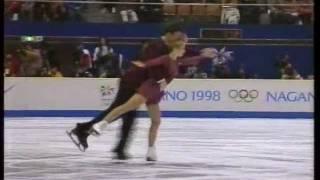 Berezhnaya & Sikharulidze (RUS) - 1998 Nagano, Figure Skating, Pairs