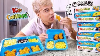 i only ate KID CUISINE frozen meals for 24 hours