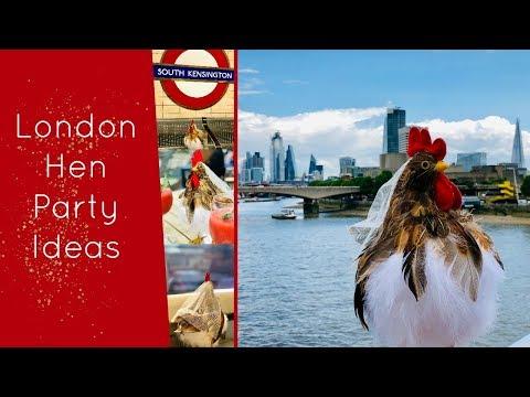 Hen / Bachelorette Weekend Ideas - London, UK