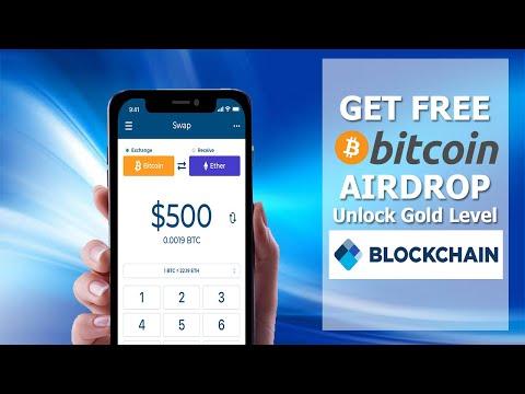 Blockchain - GET FREE BITCOIN WHEN YOU UNLOCK GOLD LEVEL | #Blockchain #FreeBitcoin