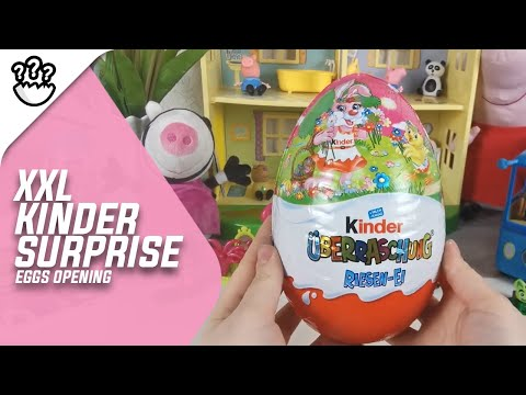 xxxl-special-kinder-surprise-eggs-opening-with-toys