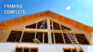 ICF Mountain Homestead: Completing Rough Framing