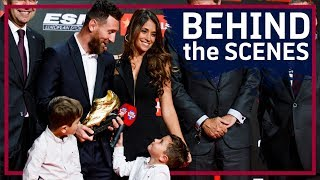 [BEHIND THE SCENES] The GOAT's 6th golden shoe | LEO MESSI