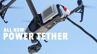 Drone Tether for DJI Inspire 2 & Matrice 200 -FLY YOUR DRONE FOR HOURS!