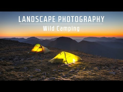 Landscape Photography | Wild camping in the Lake District