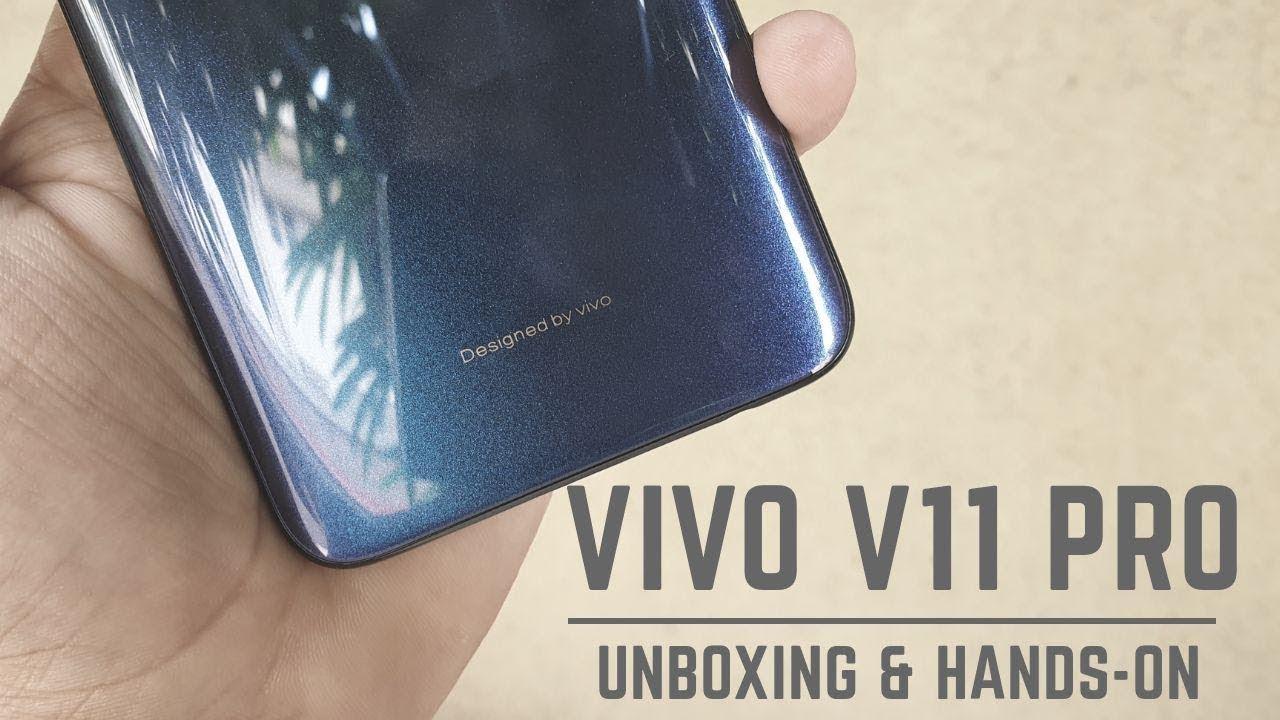 Vivo V11 Pro Hands-on [Images]