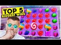 Top 5 BIGGEST Sweet Bonanza Wins EVER! (Bonus Buys)