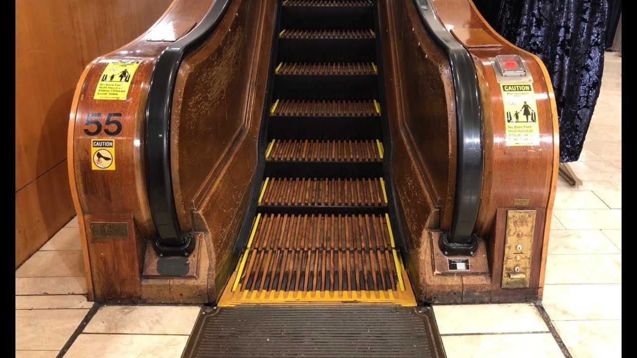 Image result for macy's old escalator