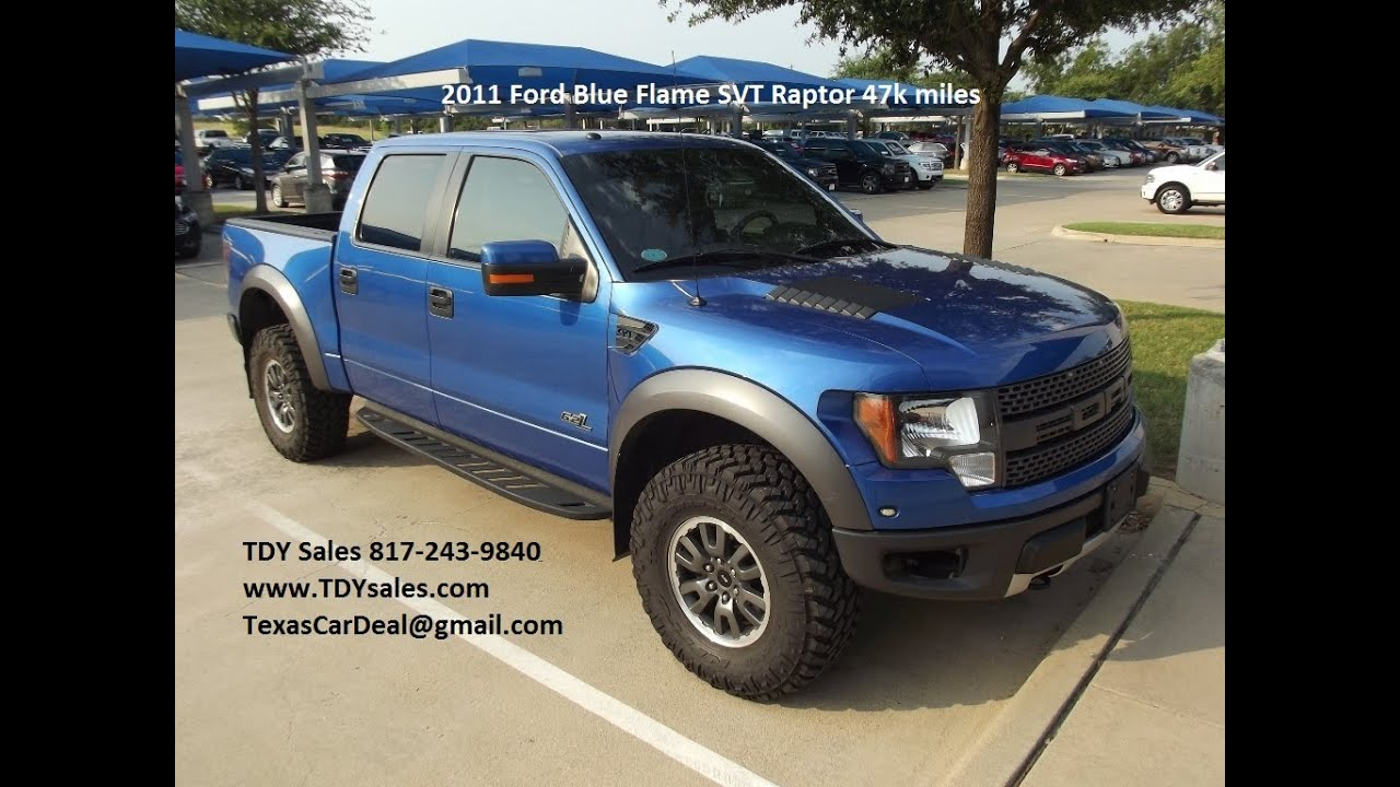 An official off road machine blue flame 2011 ford f 150 svt raptor crew cab pickup 4 door 6 2l 4x4 youtube