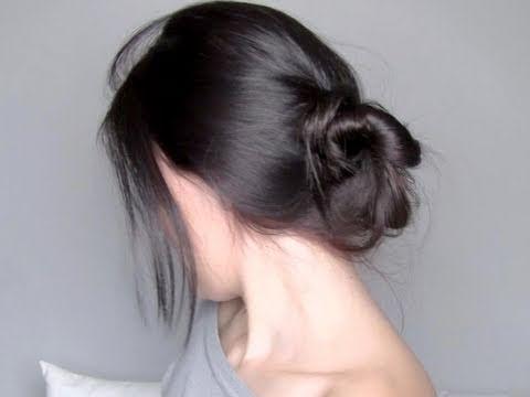 Peinado de Moda -Recogido Deshecho Bajo-