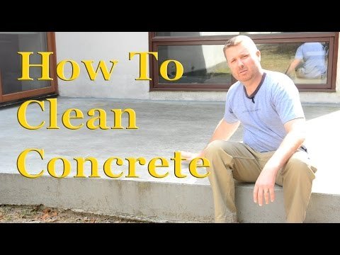 How to Clean Concrete | Part 1 – Sealing Concrete – DIY Cleaning & Sealing