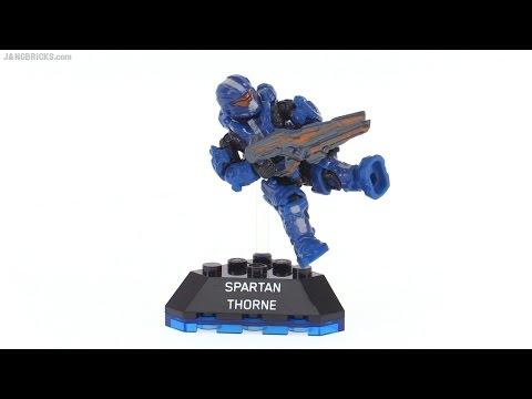 Mega Bloks Halo Heroes Series 1 Spartan Thorne review!