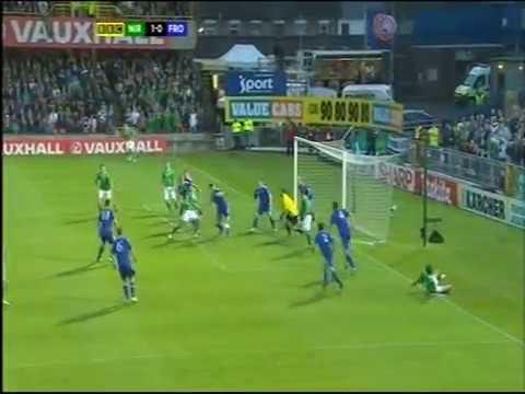 Northern Ireland 4 - 0 Faroe Islands - Aaron Hughes' goal