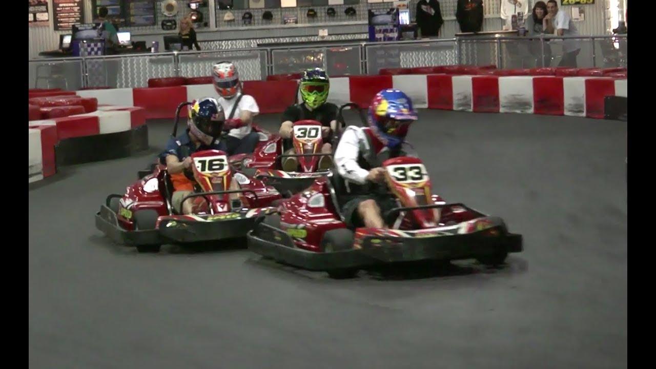 Ktm Team Indoor Go Kart Race