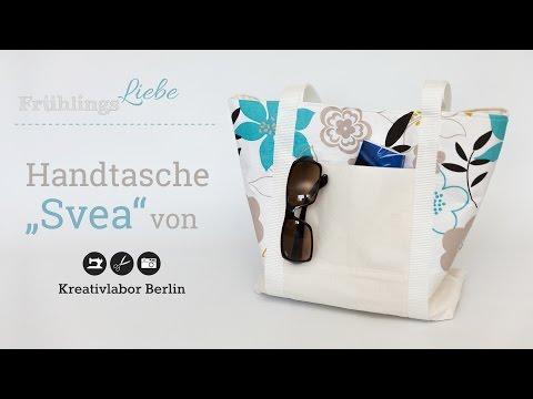 Nähanleitung: Handtasche Svea von KreativlaborBerlin
