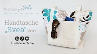 Nähanleitung: Handtasche Svea von KreativlaborBerlin *Video enthält Werbung*