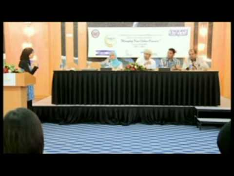 Knowledge Oman Effective use of Social Media Panel Discussion at Amideast!