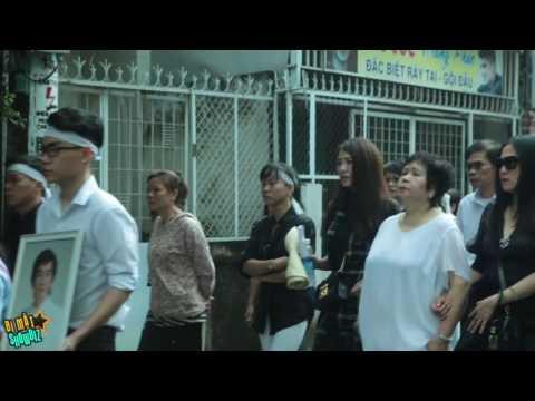 [8VBIZ] - Lễ tang Minh Thuận ngày cuối - gia đình, bạn bè khóc nức nở khi di quan đi hỏa táng