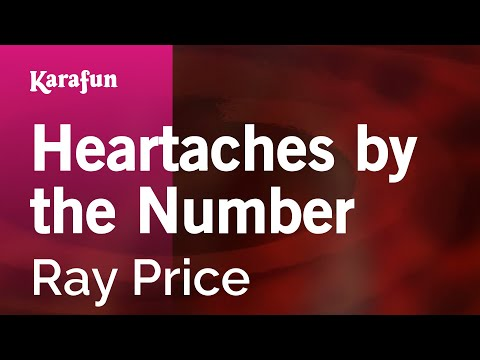 Karaoke Heartaches by the Number - Ray Price *