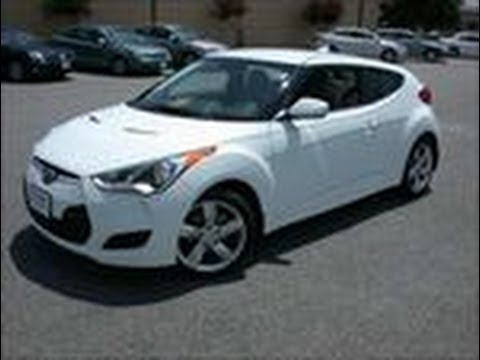 2012 Hyundai Veloster Certified Pre Owned Base Model in White Warner Robins GA