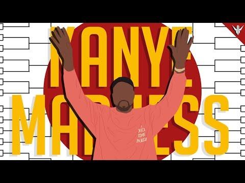 The BEST Kanye West Song?!? Kanye Madness Bracket