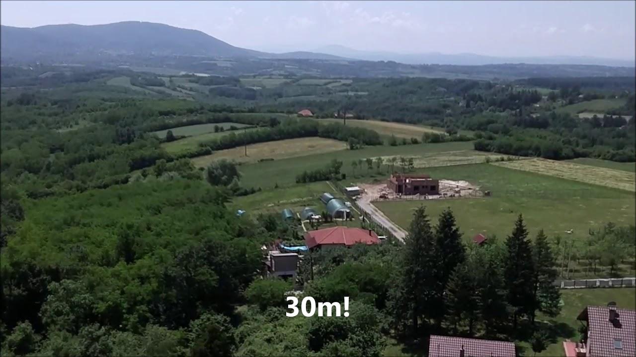 DJI TELLO at 30m altitude: DRONE FOOTAGE