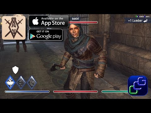 The Elder Scrolls: BLADES Early Access IOS Gameplay Part 1-