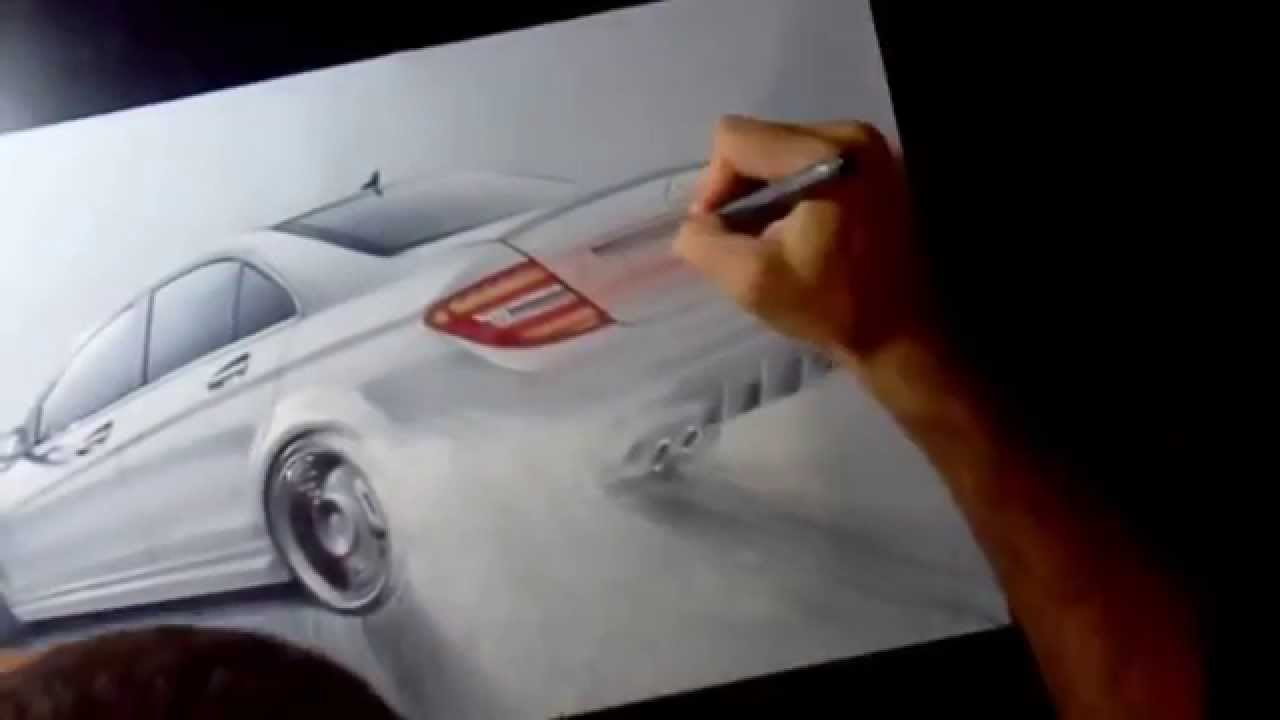 Mercedes Amg Drift Drawing Youtube