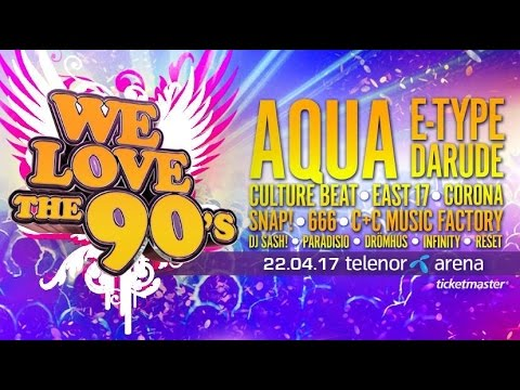 We Love The 90s 22/4/2017 [HQ] [60FPS]