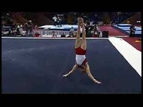 Paul Hamm on Floor Exercise at 2008 Pacific Rim