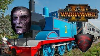 Vampire Counts vs Beastmen | THE GHORST TRAIN - Total War Warhammer 2
