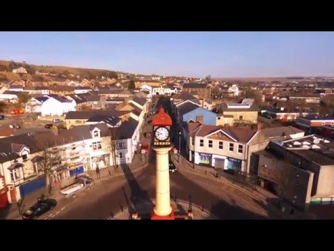 Discover Tredegar Views of from above - #WeLoveTredegar